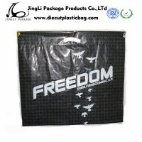 Buy cheap Eco friendly Hot Sealed Die Cut Plastic Bag PE PO gift Polybags in Black product