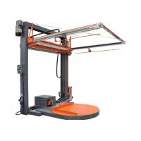 Buy cheap Heavy Pallet Semi Automatic Pallet Wrapper , Solid Automatic Stretching Machine product