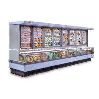 Buy cheap Painted Steel Combined Display Refrigerator Island Freezer With Big Capacity With Dynamic Cooling product