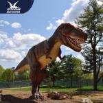 Buy cheap Zoo Equipment Handmade High quality Animatronic Dino Realistic Dinosaur Models product