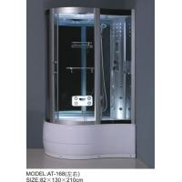 China Foot Massage Bathroom Shower Enclosures 3 Sided Waste Drain / Syphon Included on sale