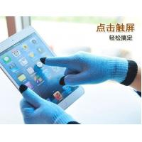 Buy cheap 2013 fashion warm touch gloves for Smartphones and Tablets, 5-finger Touch knitted gloves product
