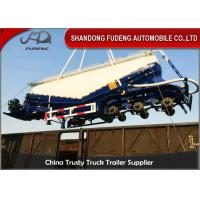 Buy cheap 40M3 Bulk Cement Tanker Trailer 3 Axles With Air Compressor And Diesel Engine product