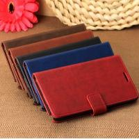 Buy cheap Luxury Standable Leather Case for Samsung Galaxy Note 3 III N9000 with card from wholesalers