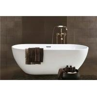 China Simple Modern Acrylic Massage Bathtub / Small Stand Alone Tub Excellent Heat Retention on sale