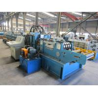 Buy cheap Cr12 Roller Material Changeable Automatic  CZ  Purlin Roll Forming Machine With CE Certificate product