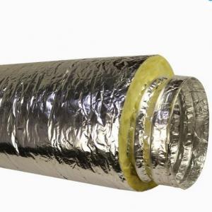 Buy cheap Fberglass のウールが付いている絶縁された適用範囲が広い管 product