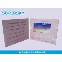 Buy cheap High End Lcd Screen Video Brochure Card Magnetic Switch With HD Screen product