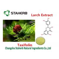 Buy cheap Cas No 480-18-2 Larch Extract All Natural Extracts Taxifolin 80%-98% Purity product
