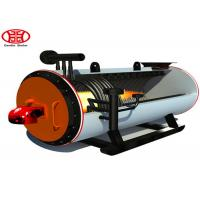 China Horizontal Gas Oil Thermal Oil Heater / Hot Oil Boiler For Textile Industry on sale