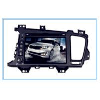 Buy cheap KIA Two DIN 8'' Car DVD Player with gps/TV/BT/RDS/IR/AUX/IPOD special for K5/OPTIMA product