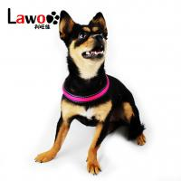 Buy cheap Rechargeable Airmesh Material Led Dog Harness , Easy Walk Dog Collar product