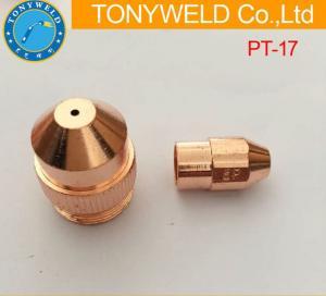 Buy cheap PT17 PT27 PT37 Electrode Nozzle Plasma Cutting Torch Parts For Plasma Cutter product