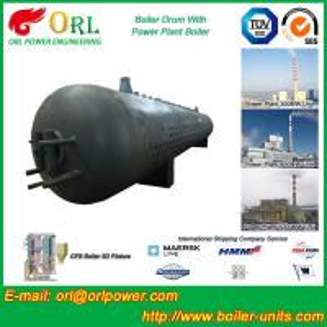 Buy cheap Cilindro de lama ISO9001 da caldeira de vapor do óleo da resistência de corrosão product