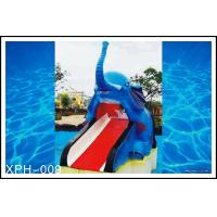 Outdoor Water Pool Slides for Kids, model of Small Elephant