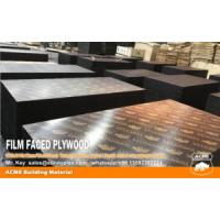 Buy cheap Shuttering Formwork Concrete Plywood 18mm film faced plywood 4*8 plywood product