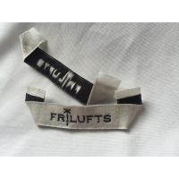 Buy cheap Pre Printed Clothing Custom Woven Labels , Self Adhesive Children'S Clothing Labels from wholesalers