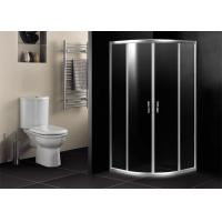 Quality 6mm Glass Door Bathroom Shower Enclosures Quadrant With Stainless Steel Handle for sale
