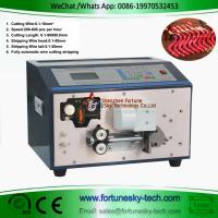 China Automatic Wire Cut Strip Forming Machine Both Ends Stripping 5 Foldings 30 to 90 Degree Bending on sale