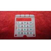 Buy cheap OEM Silk Screen Printing Silicone Rubber Keypads For Remote Control Units product