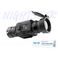 Buy cheap Outdoor Hunting Compact Thermal Clip On , Lightweight 1024*768 OLED Heat Thermal Scope product