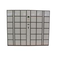 Buy cheap CE 36 Doors Large Size Steel Luggage Lockers , Password Electronic Office Lockers Box with LCD Screen product
