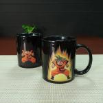Buy cheap Heat Sensitive Color Changing Mugs Yellow Goku Dragon Ball Magic Mug Coffee Mug Decoration product