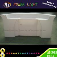 Buy cheap Event Party Bar Furniture Color Changing LED Palstic Bar Counter from wholesalers