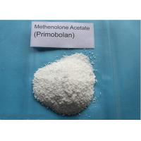 Buy cheap White Crystalline Muscle Gain Steroids / Methenolone Acetate CAS 434-05-9 , 99% Assay from wholesalers