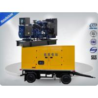 80kw 100kva Trailer Mounted Silent Type Generator With Cummins Diesel Engine Low Fuel Consumption