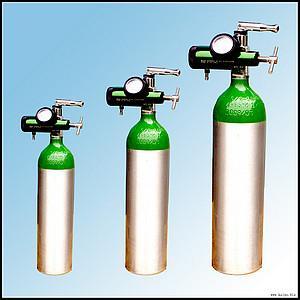 Buy cheap Ambulance Breathing Medical Portable Oxygen Cylinder Of Aluminum product