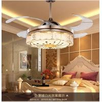 China 8000K 42 Inch Ceiling Fan With Led Light / 1060mm Crystal Led Fan Lights on sale