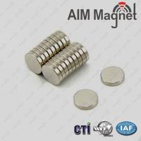 Buy cheap Strong Small Disc D8 x 1mm Neodymium Magnet product