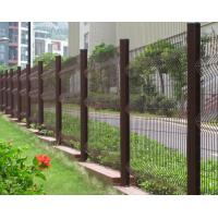Pvc Coated Welded Wire Mesh Fence 3 Bends Wire Mesh Fence