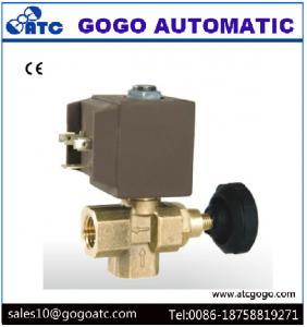 China Water Solenoid Valve For Steam Iron , Generator boiler with regulator steam water flow control gas regulator valve on sale