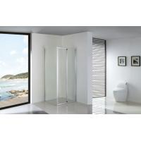 China Foldable Bathroom Shower Enclosures Installed with Fixed Side Panel wholesale