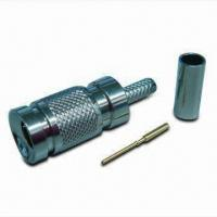 Buy cheap 1.0/2.3 RF Connector, Plug Crimp for RG179, 75 Ohms product