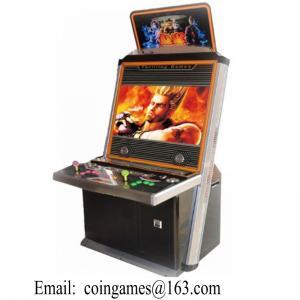 Buy cheap Machine à jetons de Cabinet de jeux vidéo d'arcade de Tekken Street Fighter product