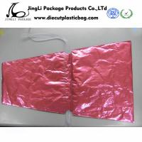 Buy cheap LDPE Colored Drawstring Plastic Bags Packaging Polybag for Flowers product