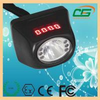 Digitable 1W 120 Lumen LED Mining Light ATEX CE 0.35A , Portable Cap Lamp