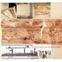 Buy cheap Wooden door wrapping paper coating profile wrapping machine china supplier from wholesalers