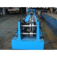 China C Z Purlin Interchangeable Steel Rolling Machine / Metal Roll Forming Machine In Warehouse Building on sale