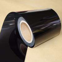 China Electrical Insulation Black PET Film For Medical Devices / Producing Adhesive Tape on sale