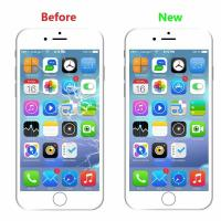 Buy cheap White Iphone LCD Touch Screen ,1334x750P Iphone 6S LCD Touch Screen product
