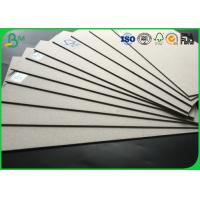 Buy cheap FSC Certificated High Density Corrugated Medium Paper 1.5mm - 2.5mm Grey Board from wholesalers
