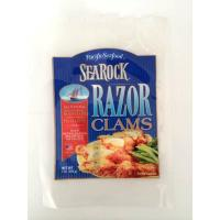 Buy cheap High Barrier Plastic Packaging Bag Three-side Seal Bags Tear Waterproof Pouch For Seafood product