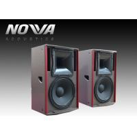 Buy cheap 450 W Full Range Speakers 8ohm 127dB For Stage Events , Textured Black Paint product