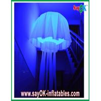 Buy cheap Wedding Party / Events Inflatable Lighting Decoration , 190T Nylon Cloth Inflatable Jellyfish product