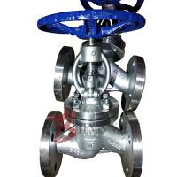 Buy cheap Straight Body Din Globe Valve Metal Seal With Bolted Bonnet Rising Stem from wholesalers