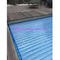 China Automation Swimming Pool Control System Inground Type Pool Covers With Polycarbonate Mat wholesale